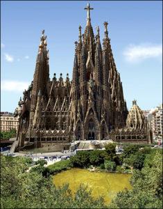 Φοιτητική ζωή στην Ισπανία sagrada familia