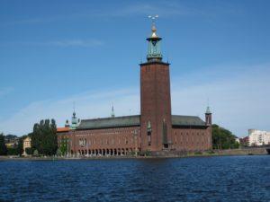 φοιτητική ζωή στη Σουηδία Stockholm-City-Hall