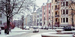 Φοιτητική ζωή στο Όσλο - Frogner_Lovenskiolds-gate_vinter_foto_Anna Pavlyuc