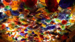 Philosophy, coloration, chihuly ceiling, las vegas